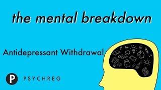 Antidepressant Withdrawal