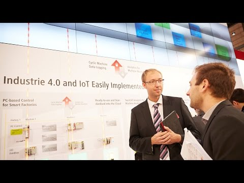 Beckhoff at SPS IPC Drives 2016