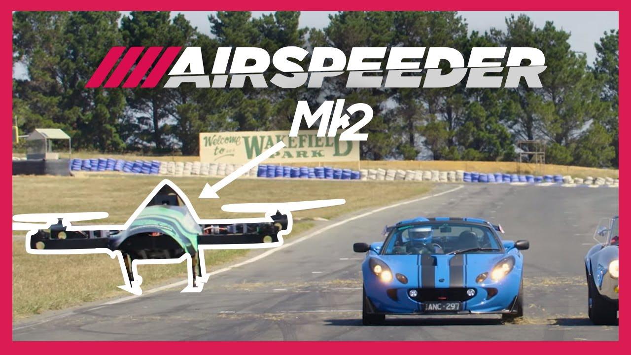#видео | В США запустятся гонки на летающих автомобилях