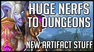 HUGE NERFS To Dungeons! New Heart of Azeroth TALENT TREE   WoW Battle for Azeroth
