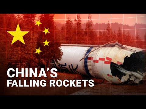 The Truth Behind China's Falling Rockets