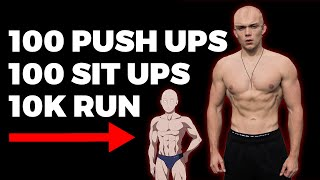 30 DAY One Punch Man WORKOUT CHALLENGE (does It Work?!)