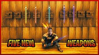 Doordie added 5 new swords