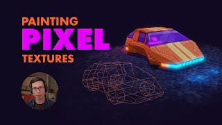 Creating A Low Poly Pixel Texture 3D Asset In Blender 2.8+