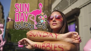 SUNDAY BUBBLES I The Most Instagrammable Party in NYC