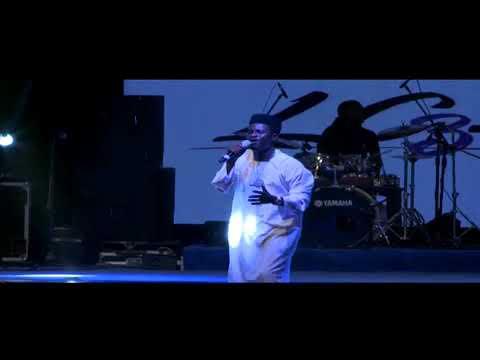 Kenny BLAQ singing at LULI CONCERT 2018