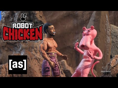 Black Panther vs. Růžový panter - Robot Chicken