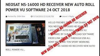 Neosat Ns 8888 New Software 2019