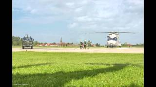 preview picture of video 'Arrival NH90 (NFH) 'RN-02' - 09 may 2014 Koksijde AB'