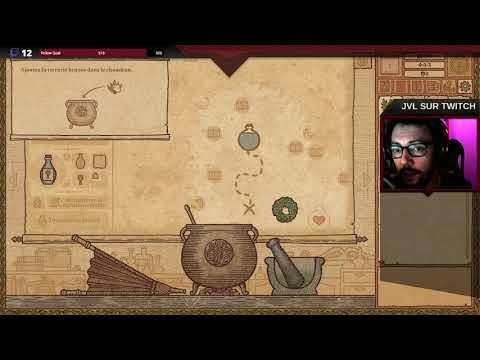VOD - On fabrique la potion contre les ongles incarnés de Merlin avec Jivé de Potion Craft: Alchemist Simulator