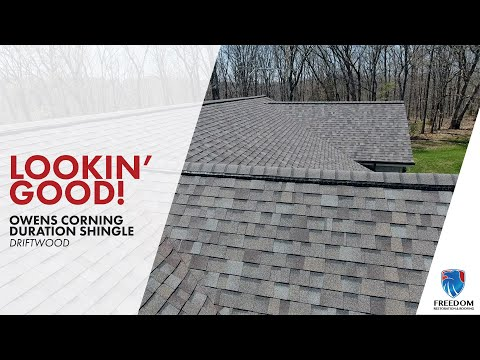 No more roof streaks! Owens Corning Driftwood in Warrenton, MO