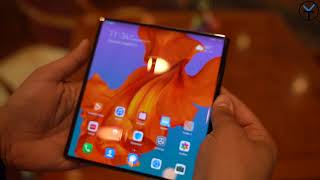 Hands On With The Updated Huawei Mate X 5G In Shenzhen - Is It The Best Foldable Phone Design ???