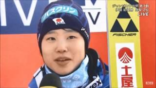伊藤有希、初優勝ジャンプ女子Wカップ第7戦