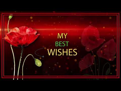 💗Good Mood! Best Wishes!💗4K Animation Greeting Cards