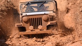 Jeep Mud Race Conducted By Kerala Adventure Club At Thrikkur Thrissur