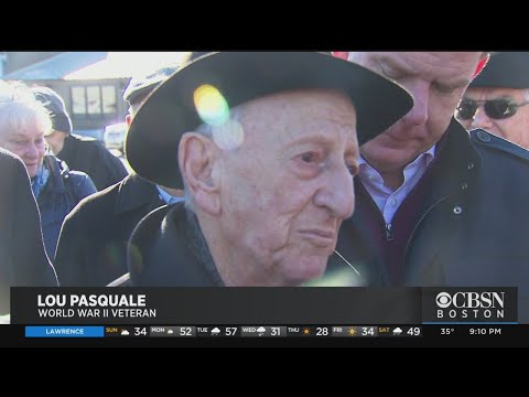 Lou Pasquale Square: World War II Veteran Honored With Street Dedication In Boston