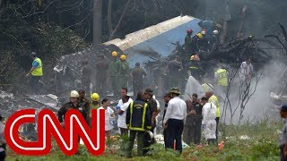 Plane crashes at airport in Havana, Cuba - Video Youtube