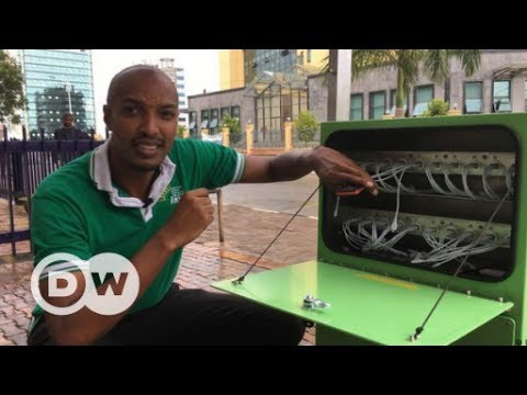 Gute Geschäfte mit Solarkiosk in Ruanda