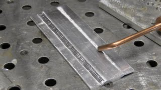 Tig Welding Aluminum with Argon Helium Mix