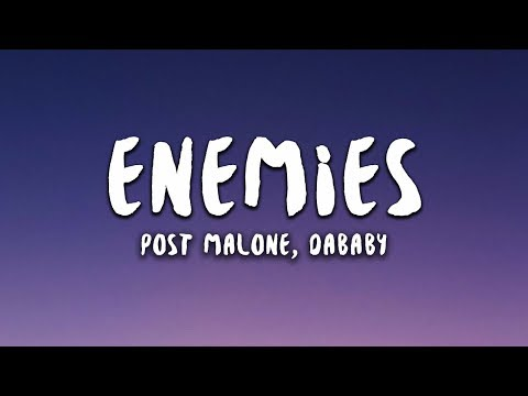 Post Malone Enemies Feat Dababy
