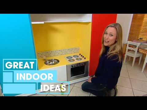 TV Cabinet Toy Kitchen | Indoor | Great Home Ideas