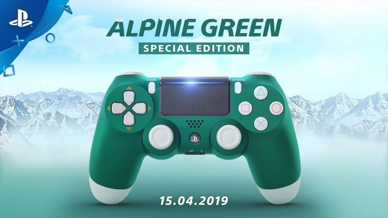 Ti presentiamo il nuovo DUALSHOCK 4 Alpine Green