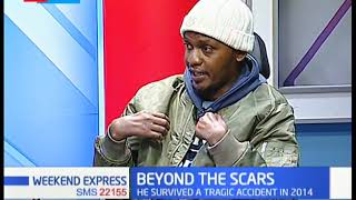 The story of Brian Muchiri: How he survived a car crash that left him paralysed