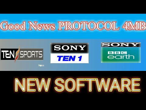 Good News! Protocol Receivers Sony Network New Software Available