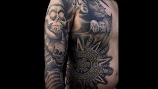Aztec Tattoo  Tatuajes Aztecas