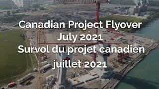 Gordie Howe International Bridge – Canadian Project Flyover July 2021