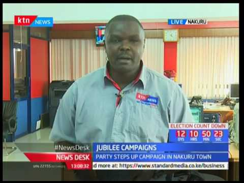 Jubilee campaigns meets with nomination losers in Nakuru town