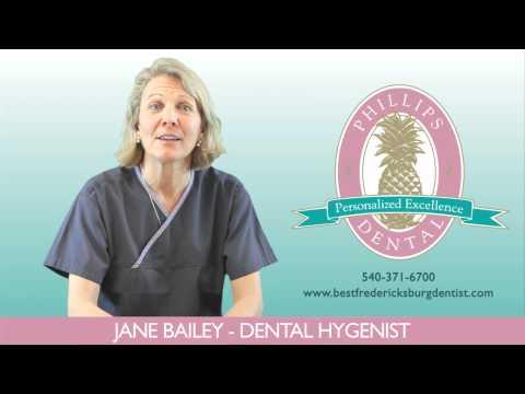 Testimonial, Jane, Dental Hygenist — Tom Phillips, DDS — Fredericksburg, VA