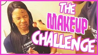THE MAKEUP CHALLENGE!! ft. @mrs_imav