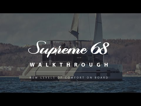 video of Sunreef Supreme 68 Sailing