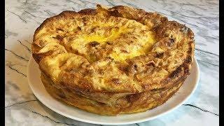 Потрясающий Пирог из Лаваша с Творогом Это Очень Вкусно!!! / Pie from Pita