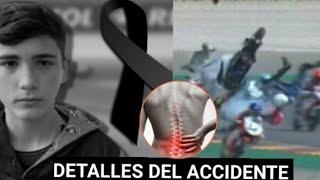 Detalles del accidente de Hugo Millán piloto Español
