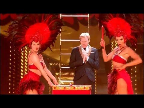 Britain's Got Talent 2015 S09E16 Semi-Finals Peter Lambert Comedic Daredevil (видео)