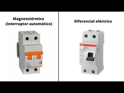 Diferencia entre magnetotermico y diferencial