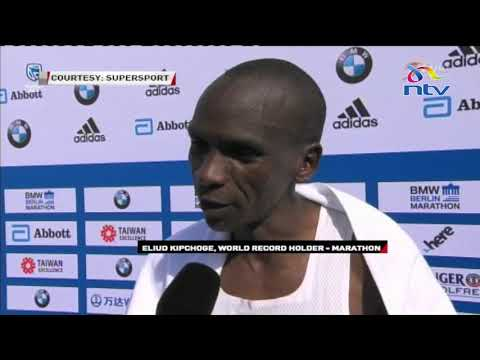 Eliud Kipchoge sets World Marathon record in Berlin