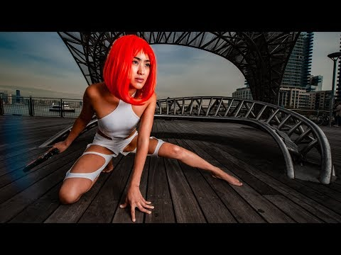 Halloween Cosplay Shoot with the Holy Trinity Lenses