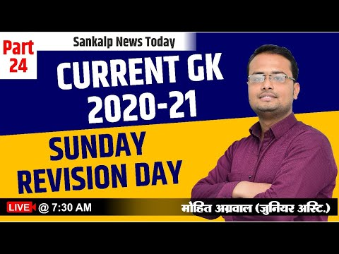 Daily Current Affairs | 24  january 2021 Current Affairs| Important Gk questions| by Mohit Sir