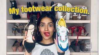 MY FOOTWEAR COLLECTION |SANIYA IYAPPAN