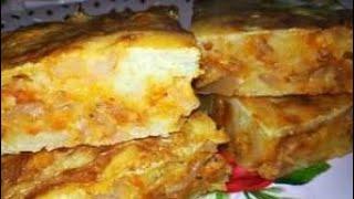 Заливной пирог с капустой      Супер Вкусный Пирог
