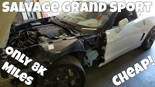 How Much I've Spent on the Salvage C6 Corvette Grand Sport Rebuild Project *Really Cheap*