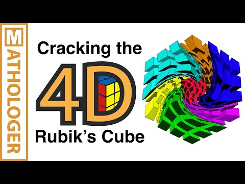 Cracking The 4D Rubik's Cube With Simple 3D Tricks Mp3
