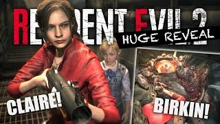 CLAIRE REVEALED! New Resident Evil 2 Remake Screenshots! Birkin Monster! Claire Demo News!
