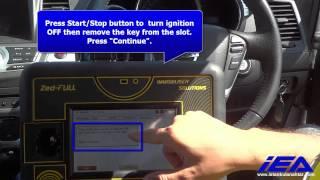 Nissan Murano 2012 OBD APPLICATION Proximity key programming