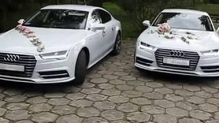 www.udanewesla.pl Białe Audi A7 samochód na wesele, auto na ślub