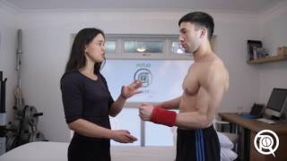 A simple exercise for shoulder pain