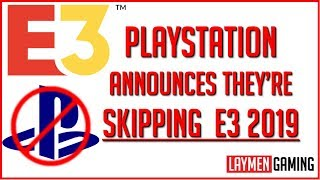 PlayStation Announces They're Too Cool For E3